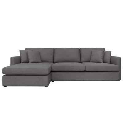 Ashley L Shaped Lounge Sofa Granite Gianna By Hipvan Hipvan L Shaped Sofa L Shaped Couch Ashley Sofa