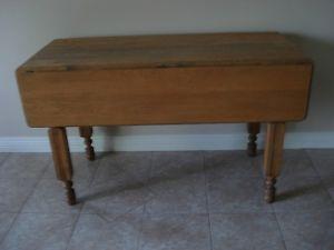 Table Antique A Battant Table Meuble A Vendre
