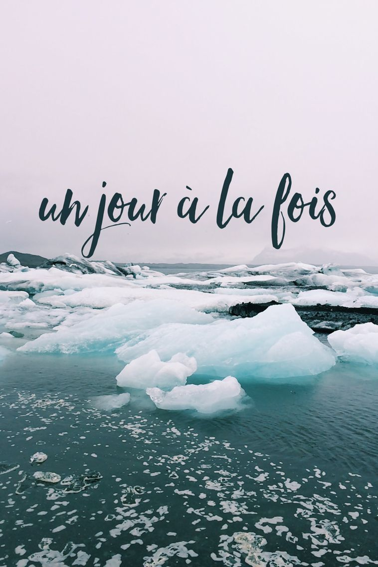iPhone background wallpaper- un jour à la fois- one day at a time. // Joyeuse photography // Iceland