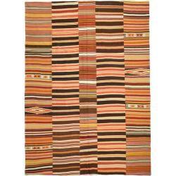 Photo of Kelim Patchwork Teppich 255×360 Moderner Teppich