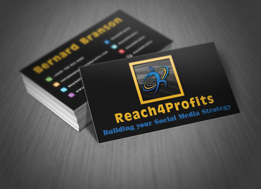 I will custom design OUTSTANDING business cards for you | More ...