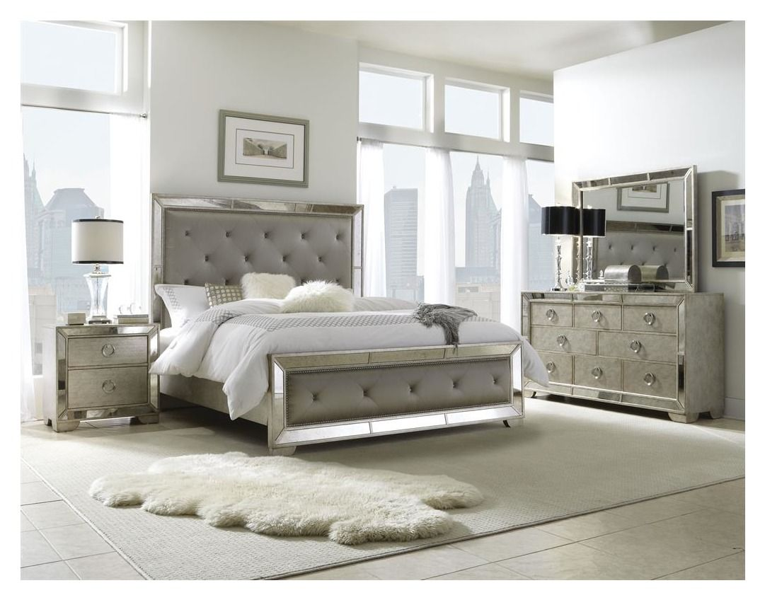 The Farrah collection from Pulaski exemplifies opulence