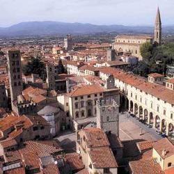 Arezzo, vista dall'alto