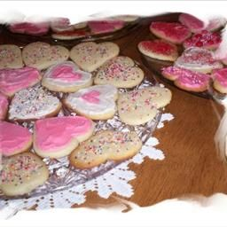 Ultimate Sugar Cookies on BigOven: Decorations:  granulated sugar, colored sugar crystals, frosting, candies, choc chips, nuts, raisings, coconut, decorating gel.