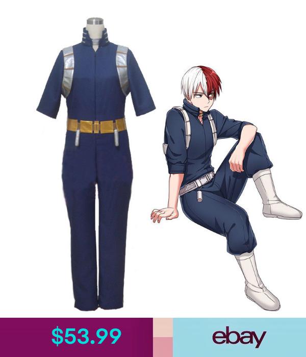 Bnha Shoto Todoroki Cosplay Costume Uniform