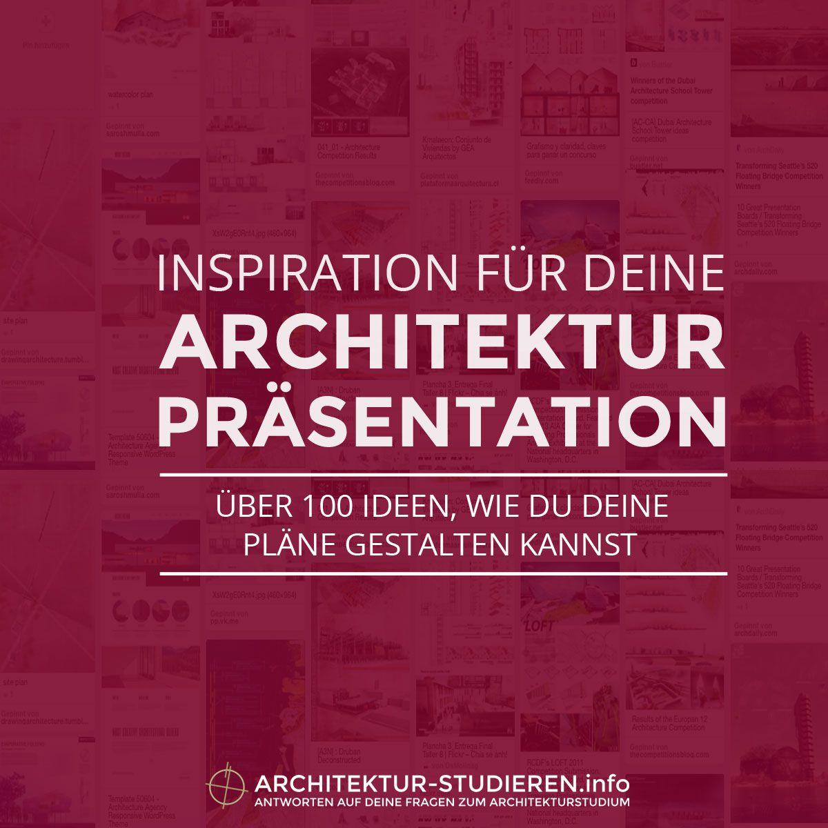 Ber 100 ideen wie du deine architektur pl ne gestalten for Bewerbung architekturstudium