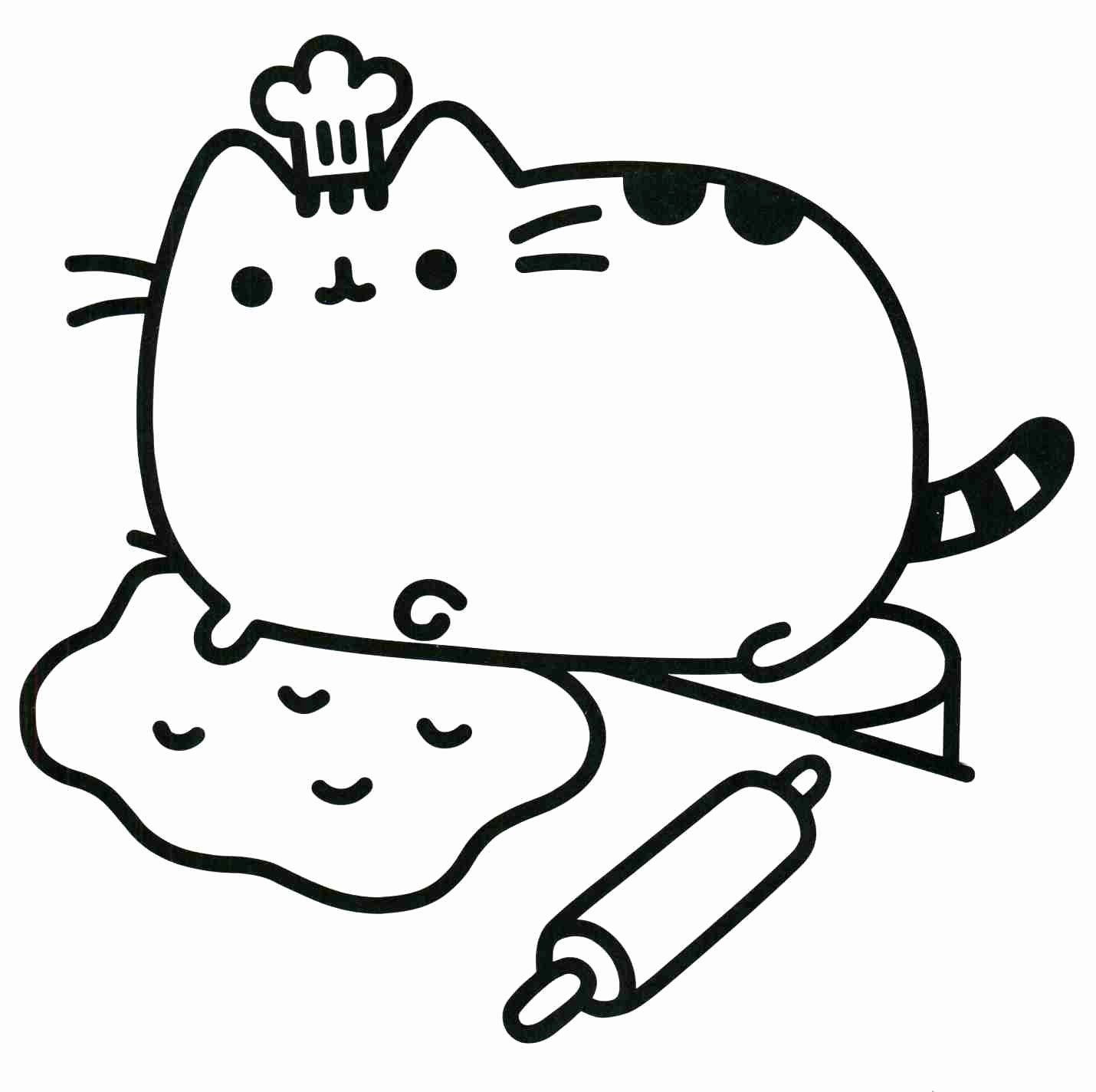 Cute Baby Animal Coloring Pictures Inspirational Kawaii Animal Coloring Pages In 2020 Pusheen Coloring Pages Cat Coloring Page Food Coloring Pages