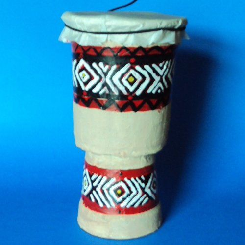 Drum Craft With Cups