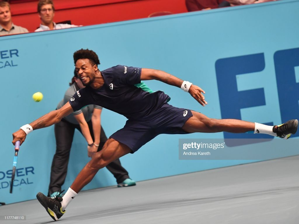 News Photo Gael Monfils Of France During The Round Of 32 In 2020 Gael Monfils Ball Exercises France
