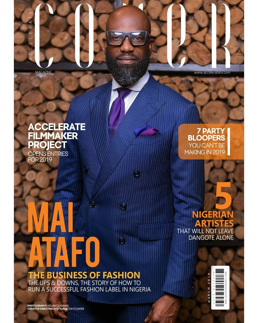 Mai Atafo Talks Running A Successful Fashion Brand In Nigeria In The Cover Magazines Latest Issue Fashion Fashion Brand Fashion Labels