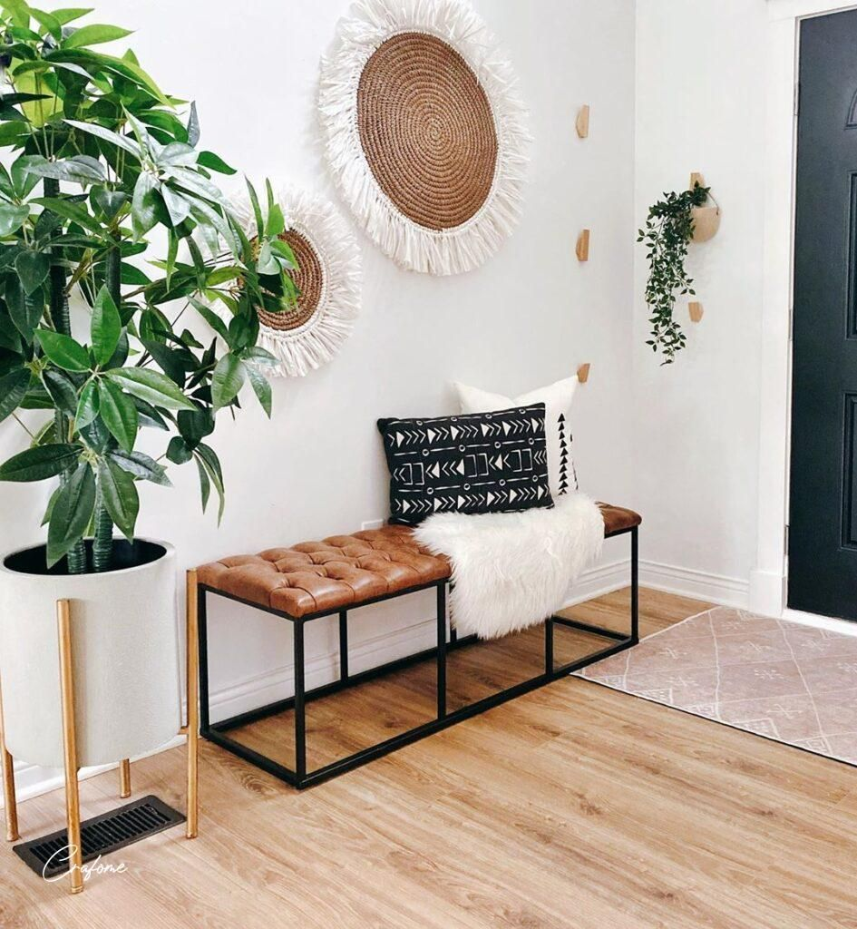 10 Awesome Entryway Decorating Ideas - Crafome