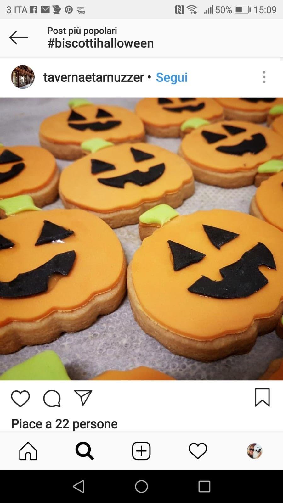 Pin di maria teresa vergara su Tema Hallowen Biscotti