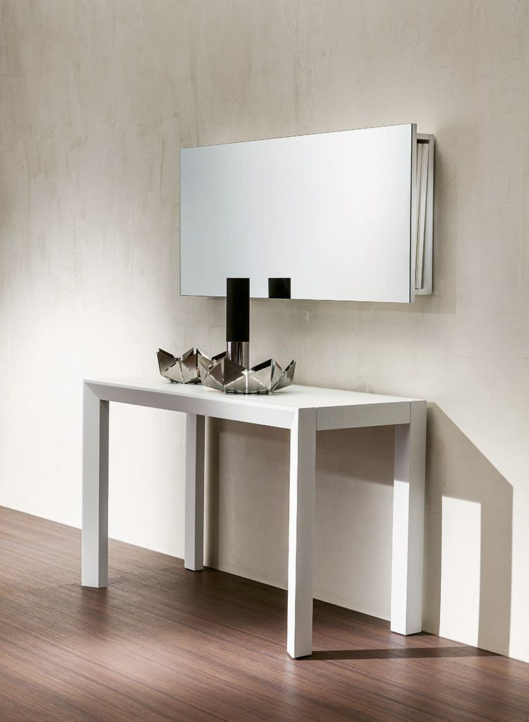 Box Storage Mirror (para Guardar Extensiones De La Consola Goliath) Resource  Furniture