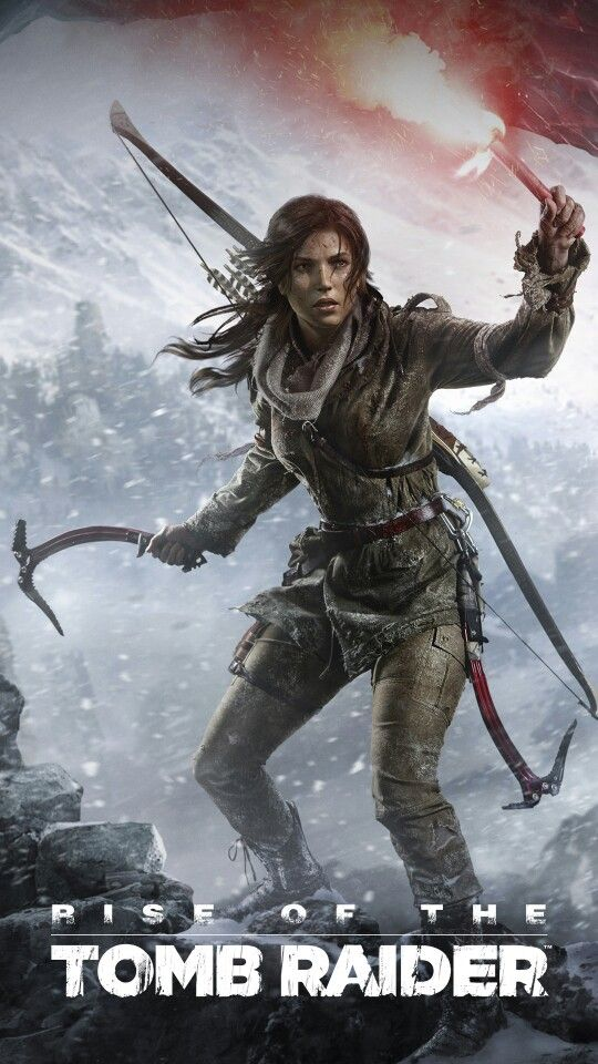 Rise Of The TOMB RIDER phone wallpaper