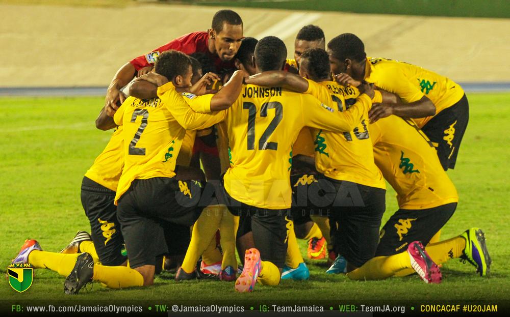 Jamaica U20 CONCACAF Championship Reggae boyz, Jamaica