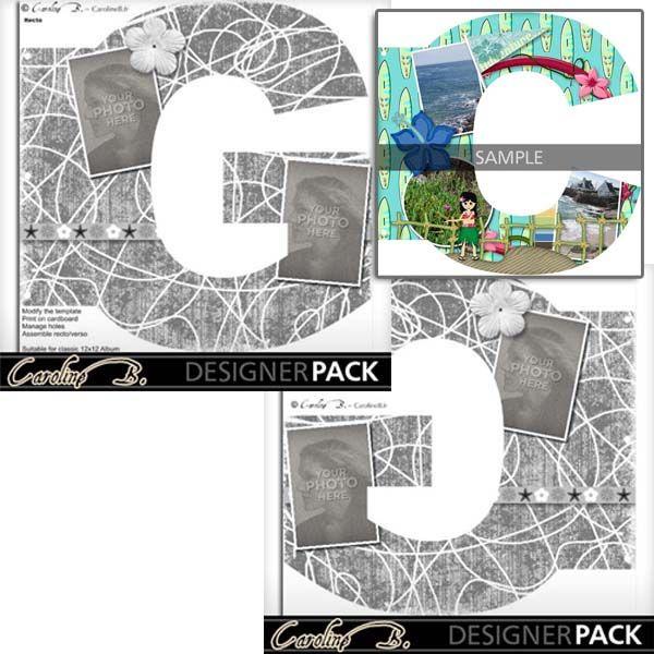 Album Page 12x12 Letter G-000 copy