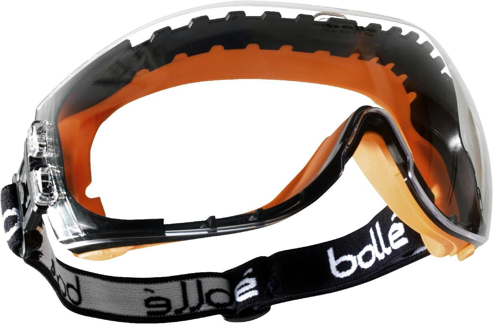 BOLPILOPSI Bolle Pilot Clear Safety Goggles Anti Mist