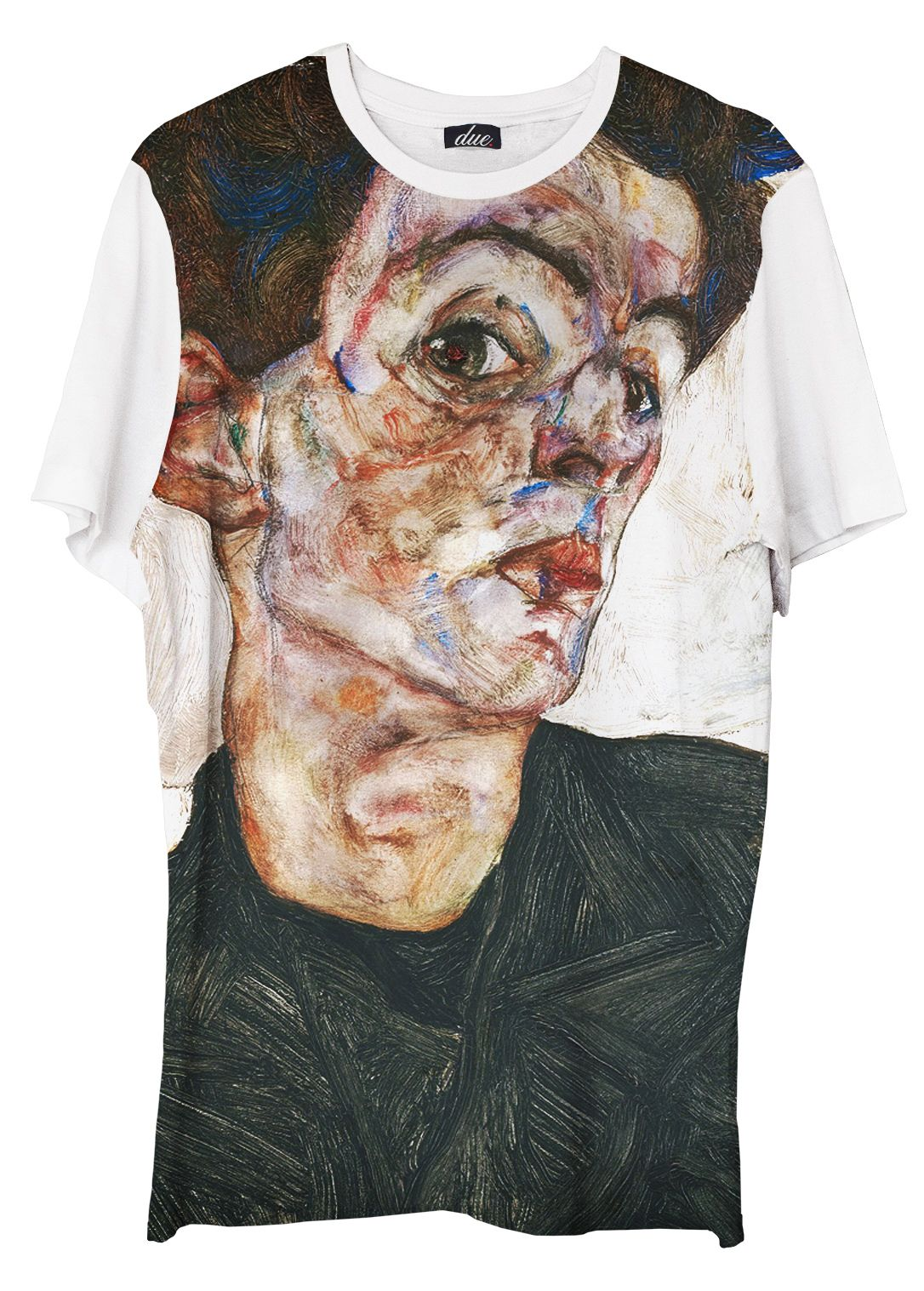 Schiele Self Portrait - Unisex T-Shirt