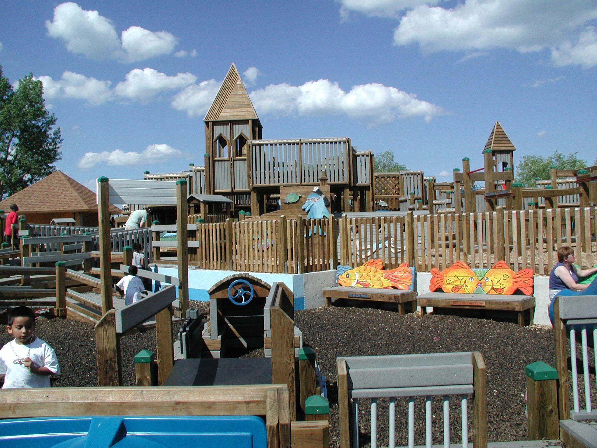 North Beach Racine Wi Kids Cove Playground