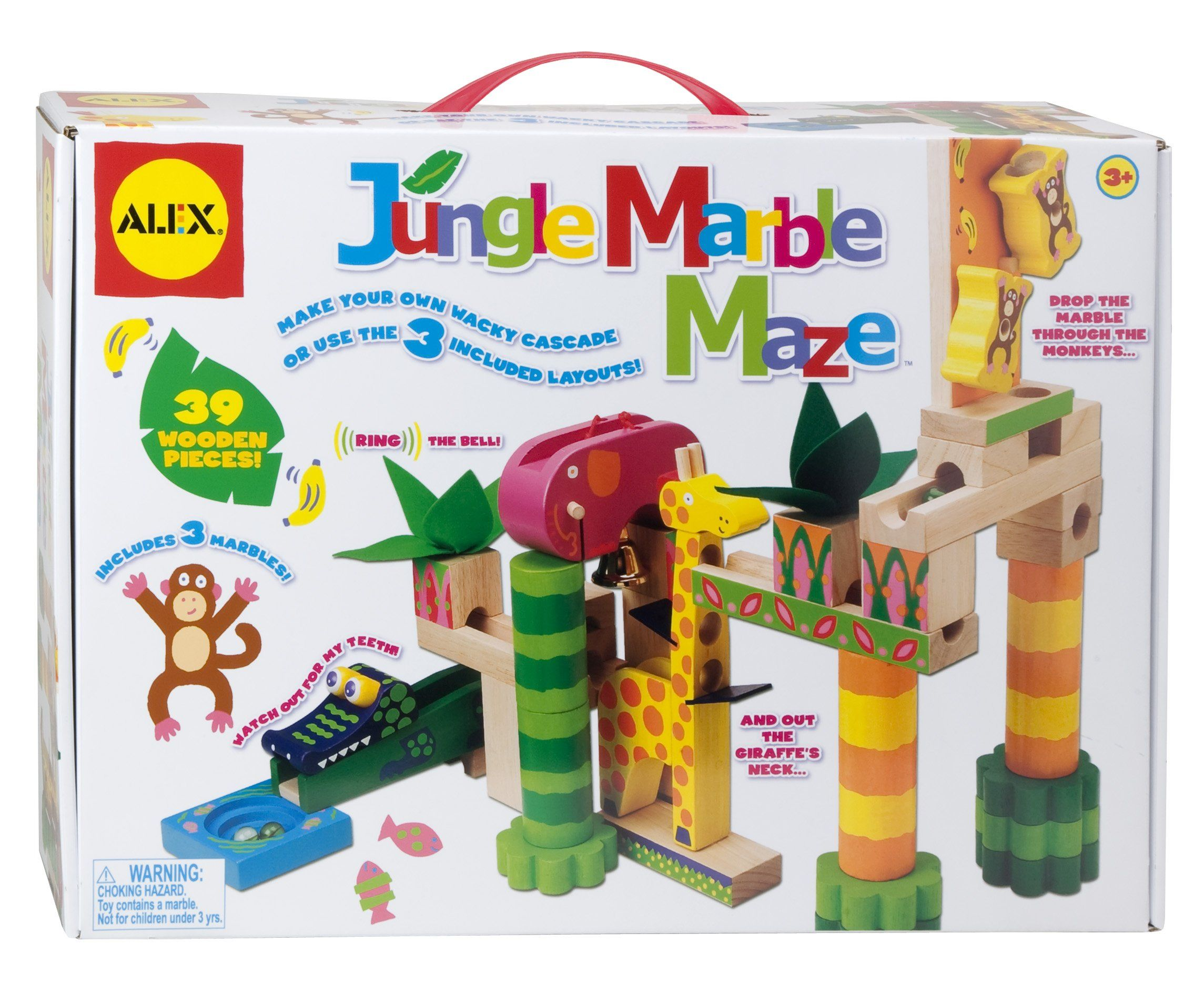 Amazon Com Alex Toys Jungle Marble Maze Toys Games With Images Alex Toys Marble Maze Christmas Giveaways