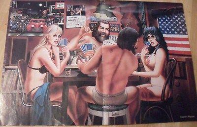 Strip poker men