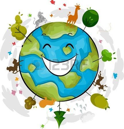 Dibujo Planeta Feliz Planeta Triste Buscar Con Google Tarea