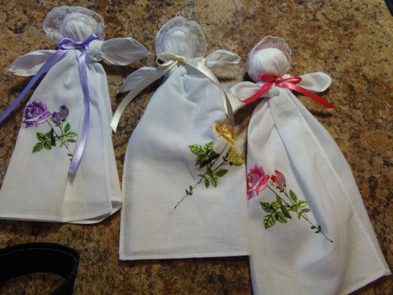 Pew Baby Church Pew Doll Handkerchief Doll Patterned After