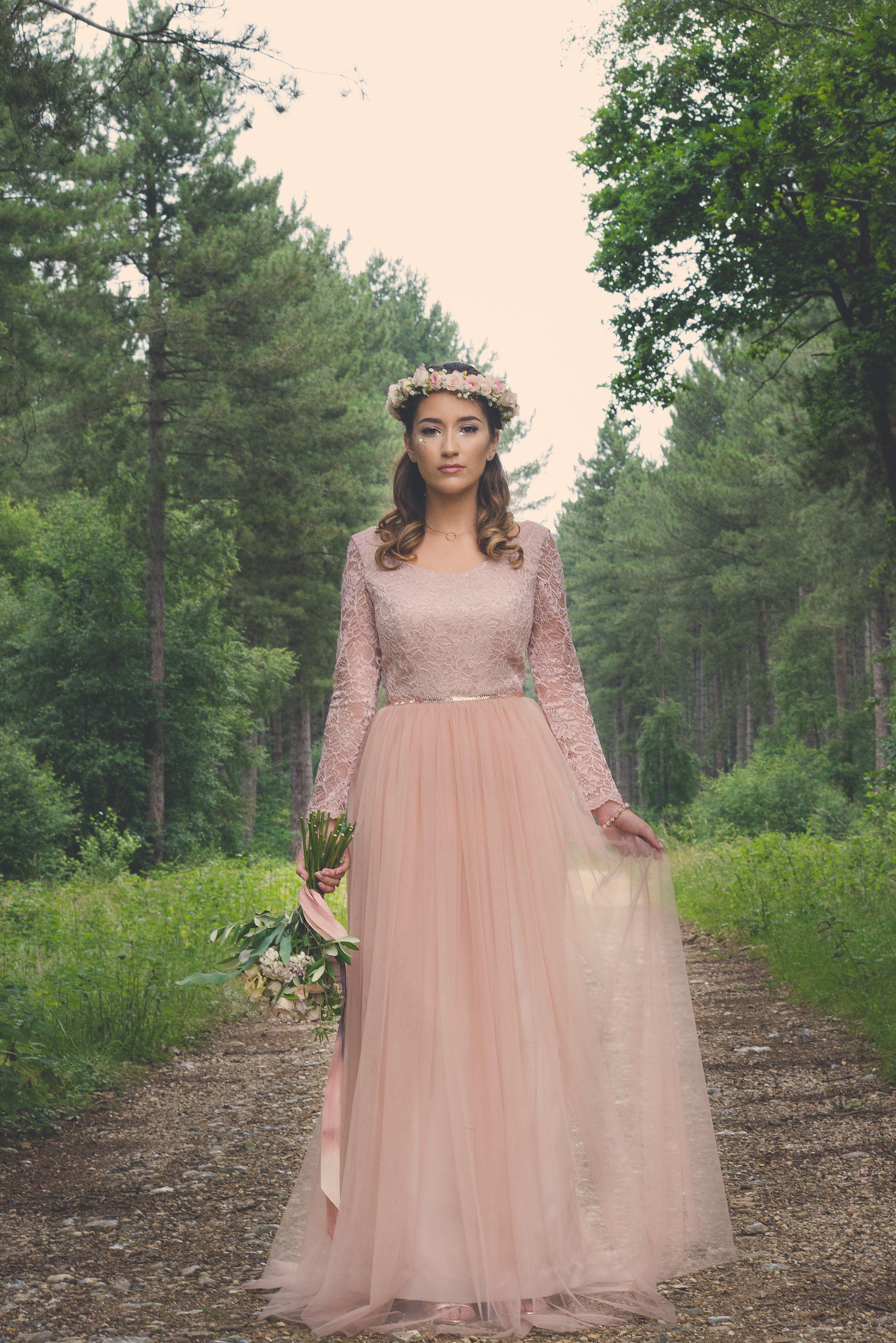 Bespoke wedding/prom dress designed and made by River Elliot Bridal ...