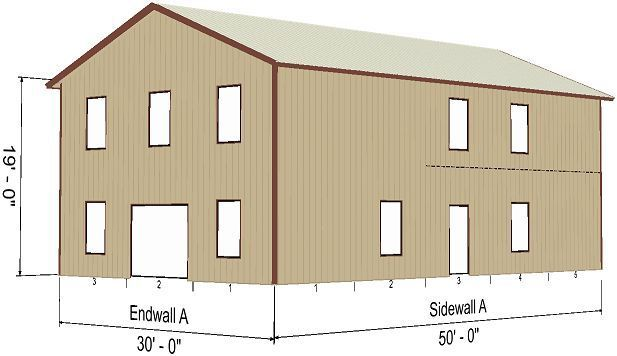 Steel Metal 2 Floor Home Shell Kit 2400 Sq Ft Barn Shed Prefab Storage Shed Plans Shed Building Plans Barns Sheds