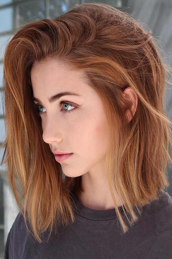 27 Layered Bob Hairstyles For Extra Volume And Dimension | Hair styles, Natural red hair, Hair