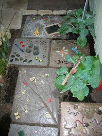 Garden Thyme with the Creative Gardener: Garden Stepping Stone Project