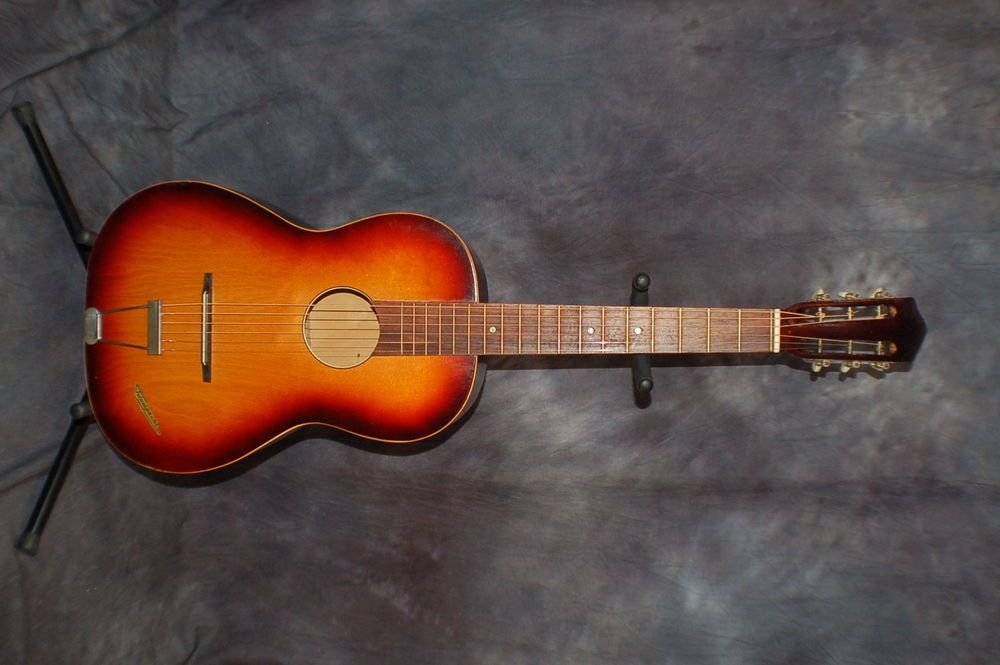Vintage Rare 1968 Klira Triumphanator Acoustic Parlour Guitar Made In Germany Guitar Acoustic Rare