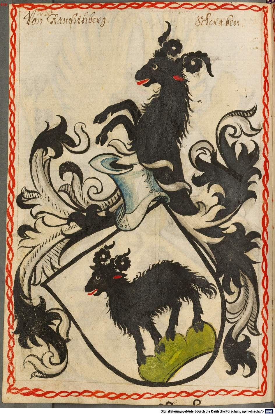 Scheibler'sches Wappenbuch Süddeutschland, um 1450 - 17. Jh. Cod.icon. 312 c  Folio 230