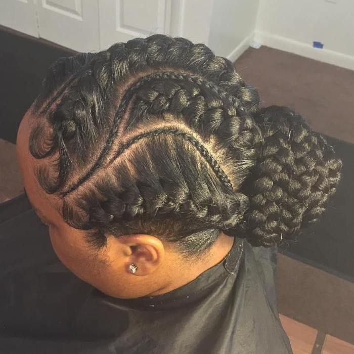 Dye Hair Color Under Black Braid Hairstyles 2018 - Ianicsolutions.com