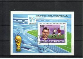 Central African Republic 1977 - World Cup 1978, Argentina Souvenir Sheet
