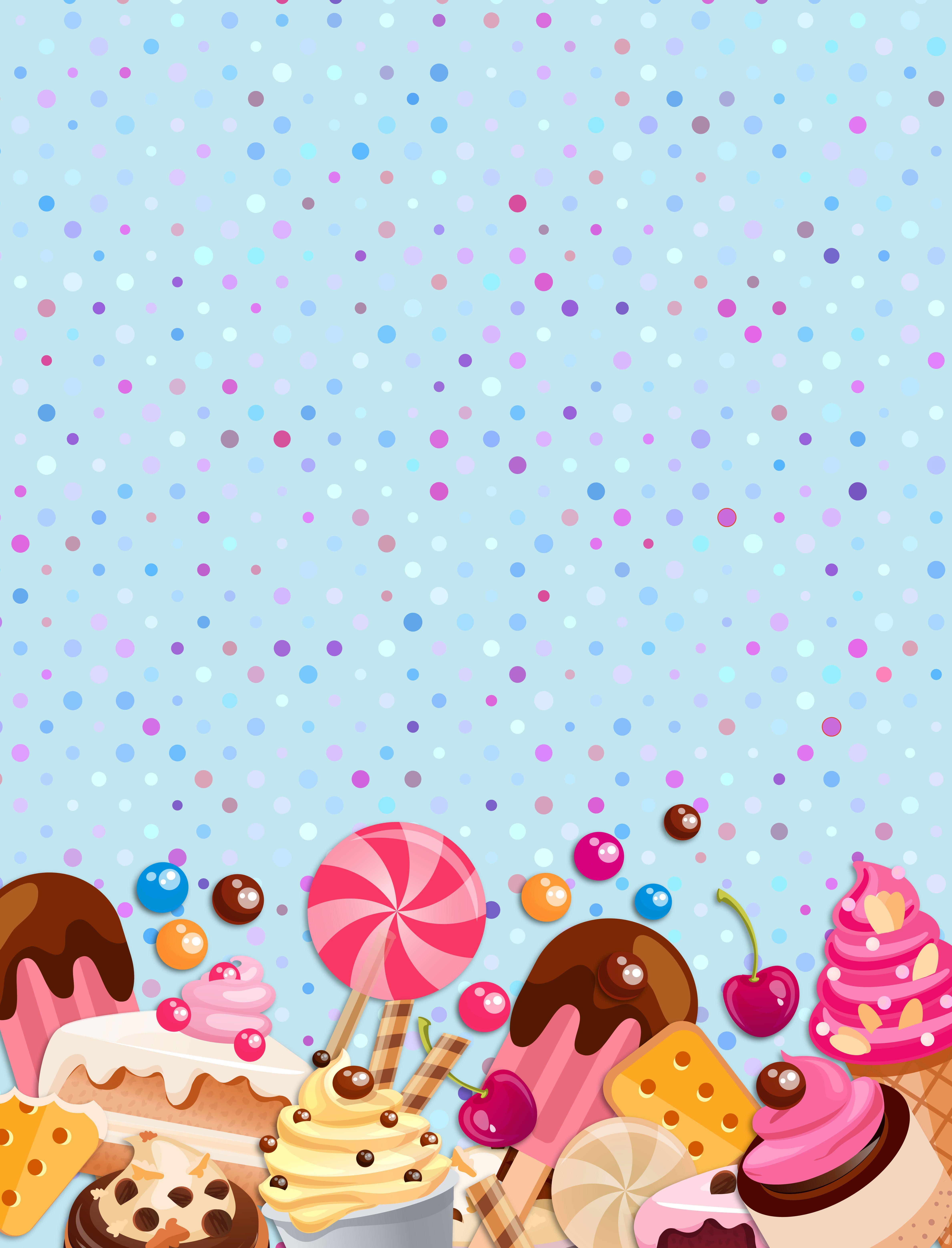 Открытки с о сладостями