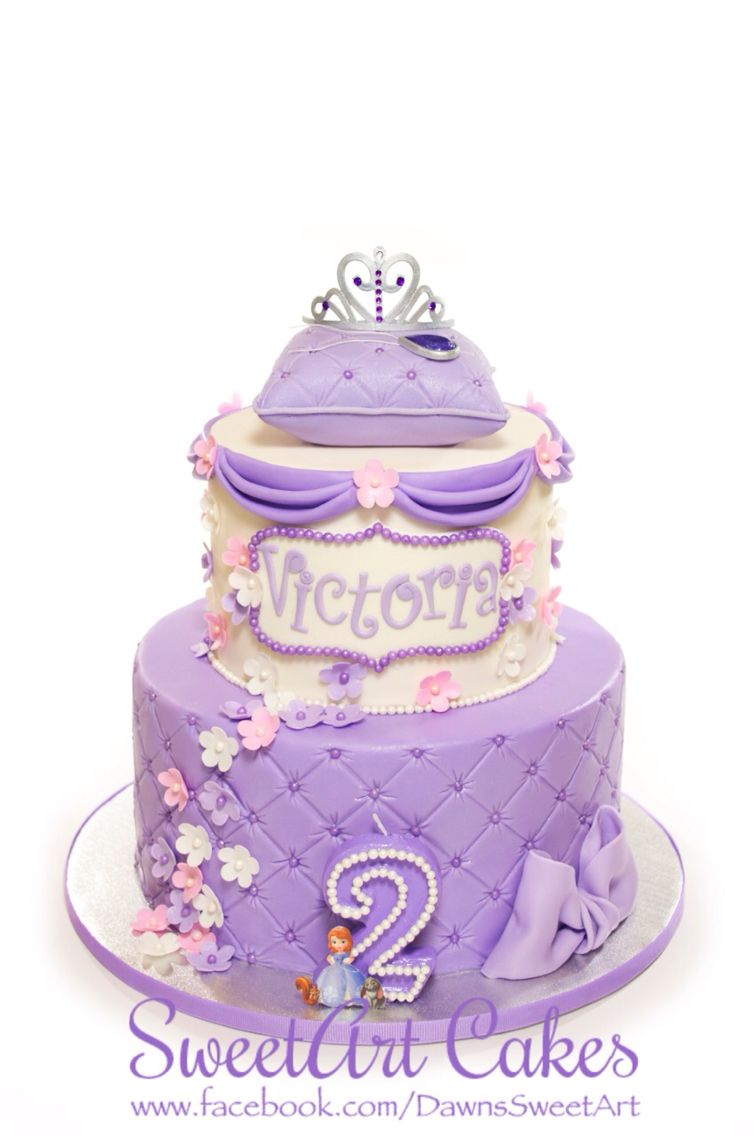 Sofia The First Cake Cakes Pinterest Cake Birthdays And