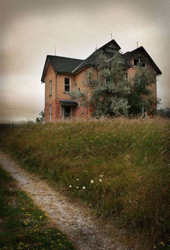Abandoned house in barrie ontario by anthony goto on flickr and we lived like poetry - The house in the abandoned school ...