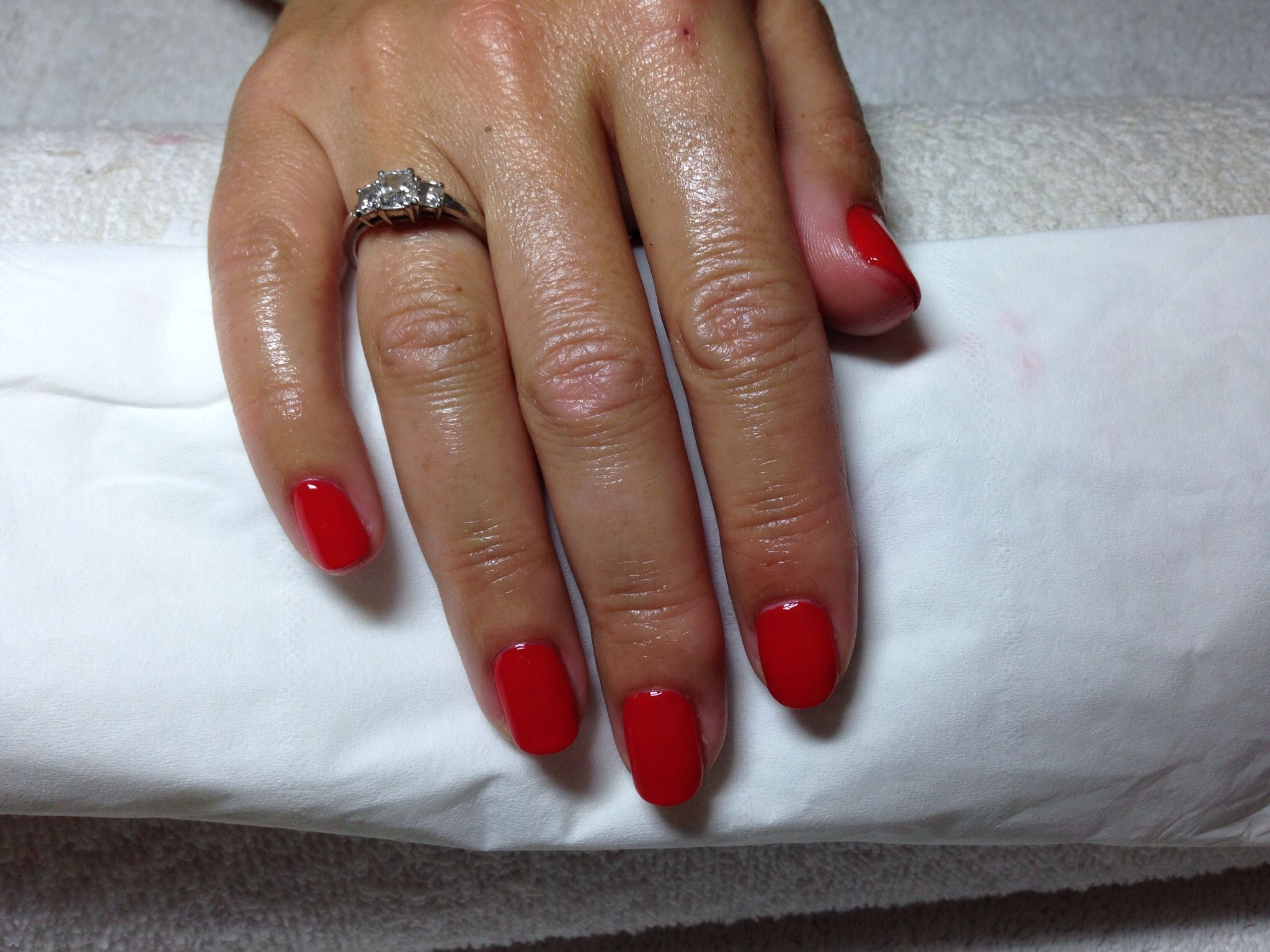 Bio Sculpture Blazing Lacquer from the brand new smoke and