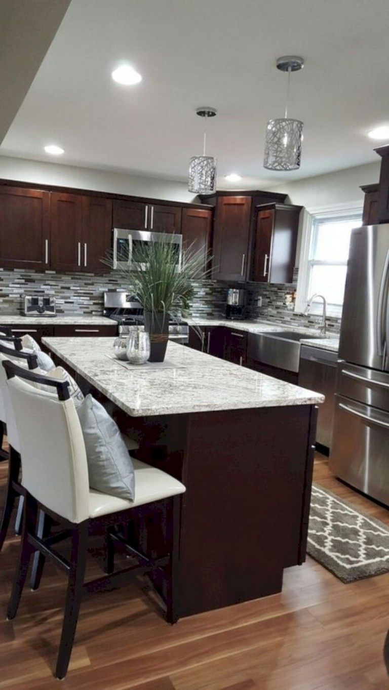 Best 42 Lovely Gray Kitchen Cabinets Design Ideas Home Decor 400 x 300