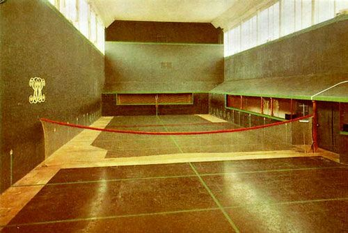 the tennis court constructed by the royals