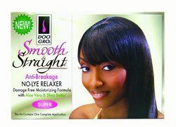 Doo Gro Smooth and Straight Anti Breakage No Lye Relaxer System, Super