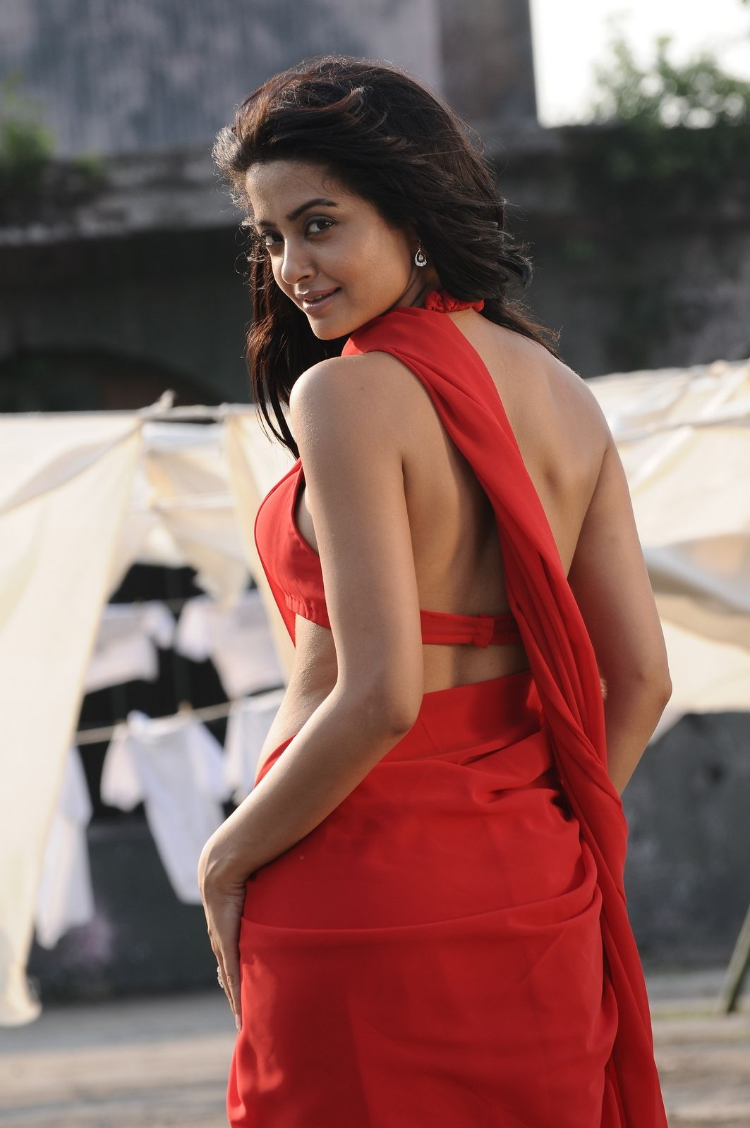 Surveen chawla in backless blouse surveen chawla pinterest surveen chawla in backless blouse thecheapjerseys Images