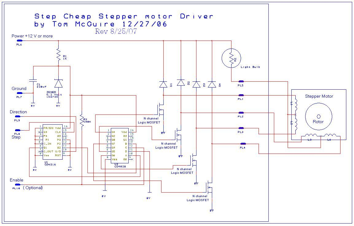 hight resolution of stepper motor controller