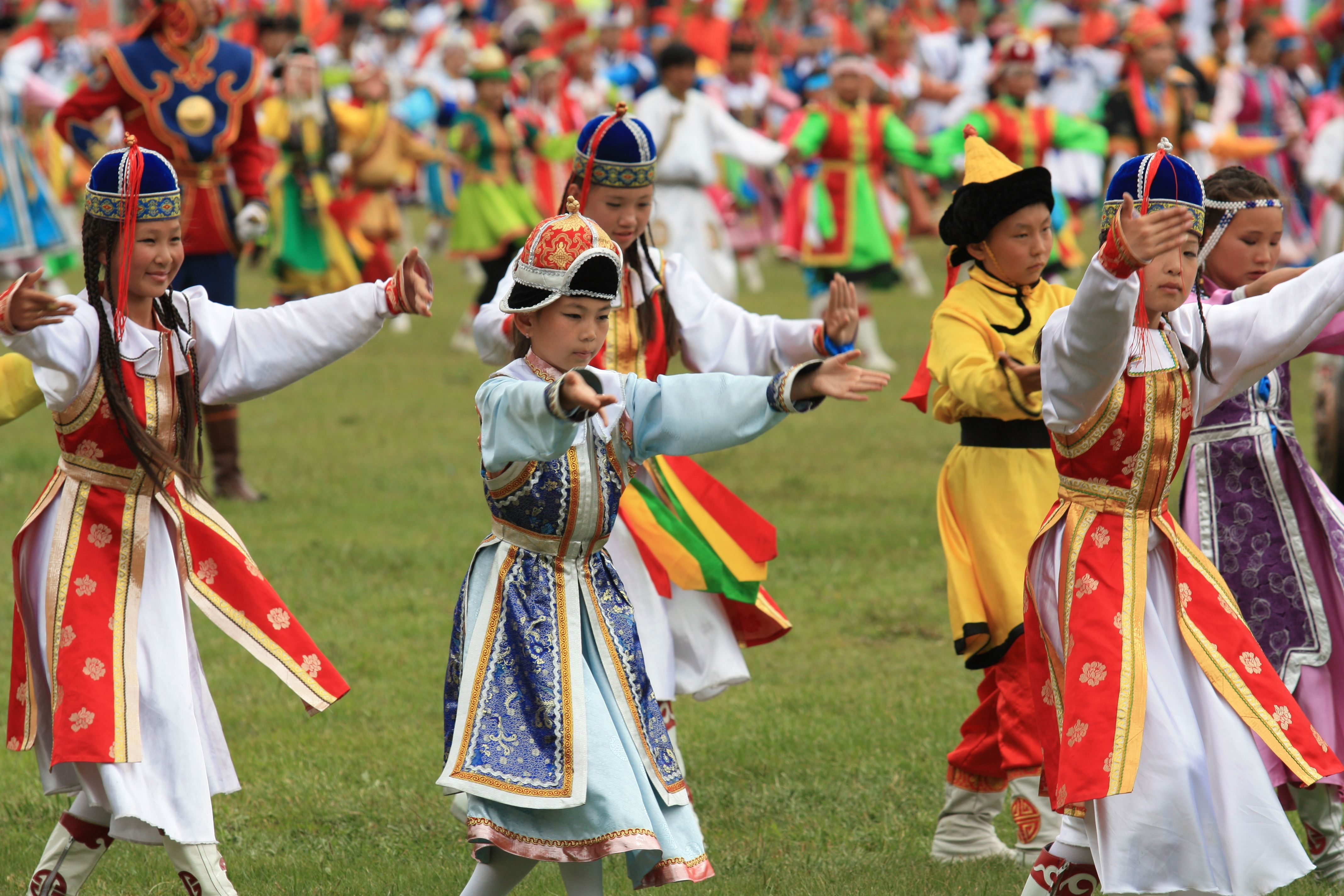 The cultural and colourful sights of the Nadaam Festival in Mongolia. This extraordinary athletic sports festival formerly commemorates the 1921 revolution when Mongolia was declared a free country.