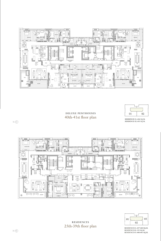 St Regis Residence Bangkok Free Floor Plans Floor Plans Hotel Floor