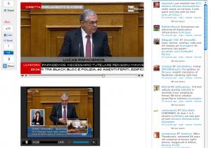 Grecia crisi in diretta e LiveTwitting