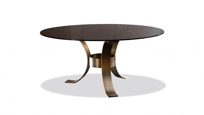 Massimo Glass Top Dining Table More Glass top dining table ideas