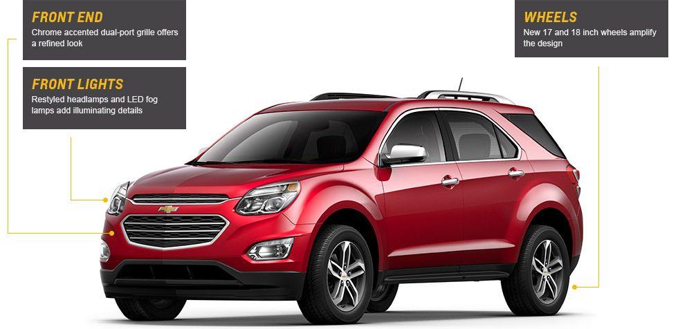 All New 2016 Equinox Fuel Efficient Suv Chevrolet