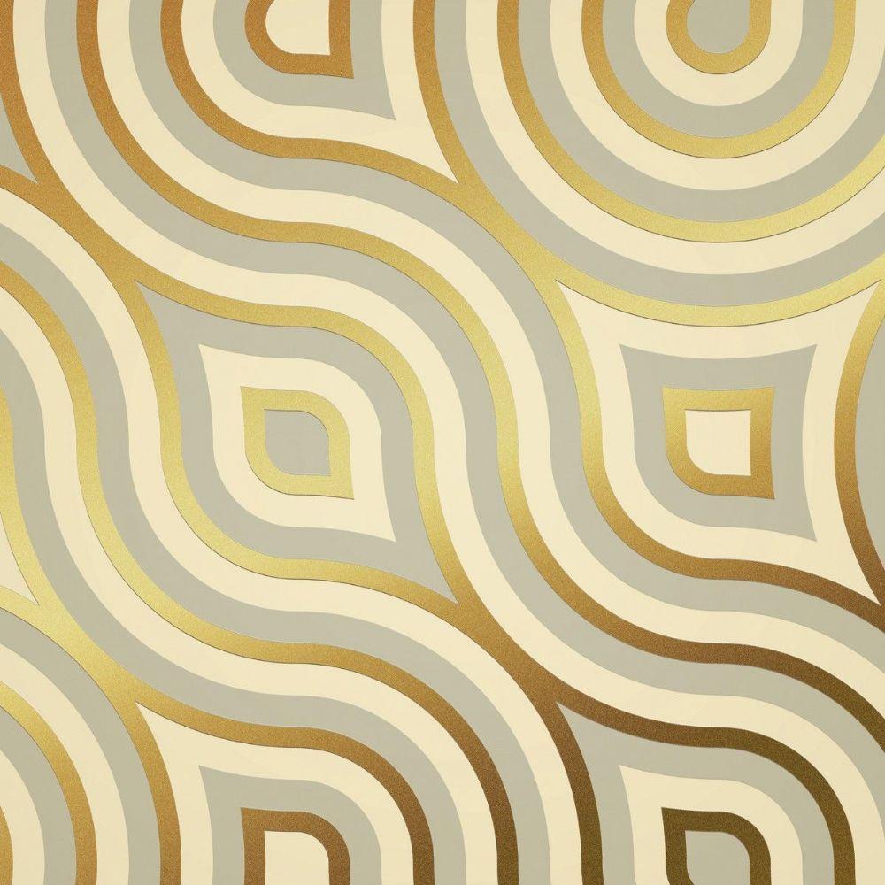 Paper wallpaper Meander retro look | Photo wallpaper, Wall murals ...